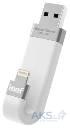 Гаджет Leef iBRIDGE 128 GB White