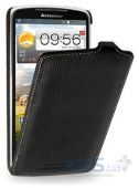 Чехол TETDED Leather Flip Series Lenovo S920 Black