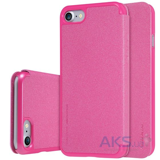Чехол Nillkin Sparkle Leather Series Apple iPhone 7 Pink
