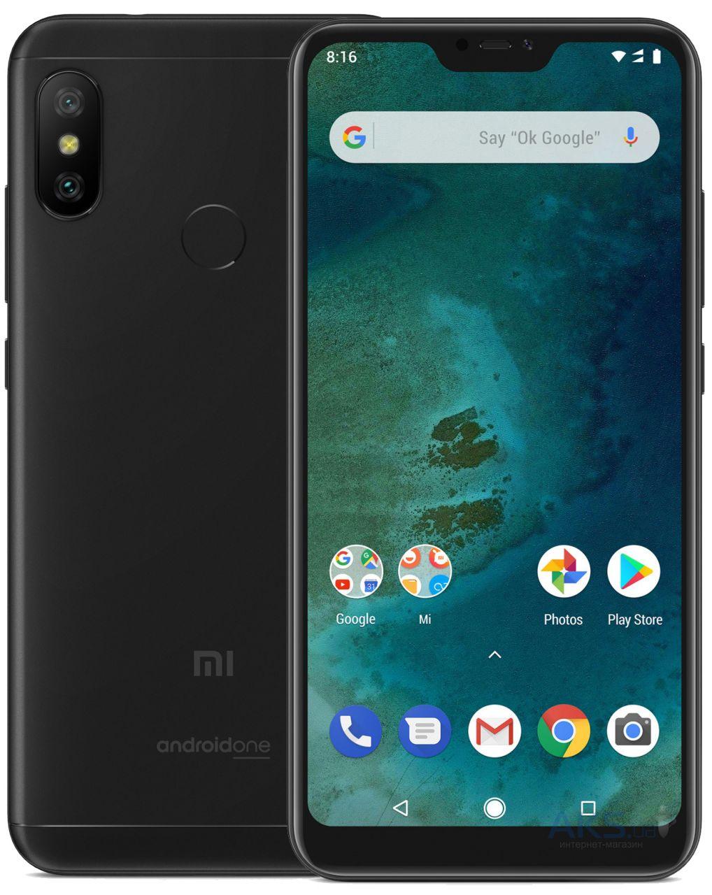 Мобильный телефон Xiaomi Mi A2 Lite 4/32Gb Global version Black