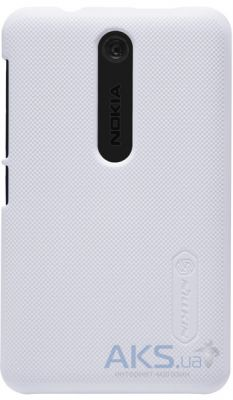 Чехол Nillkin Super Frosted Shield Nokia Asha 501 White