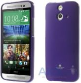 Чехол Mercury Jelly Color Series HTC One E8 Dual sim Violet