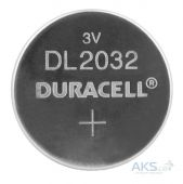 Батарейки Duracell CR2032 (DL2032) 1шт