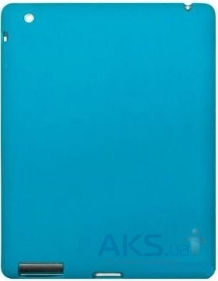 Чехол для планшета Dexim Silicon Case for Apple iPad 2/3/4 Turquoise