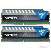 Оперативная память Patriot DDR4 32GB (2x16GB) 2666 MHz Viper Blue (PVE432G266C6KBL)
