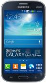 Дисплей (экран) для телефона Samsung Galaxy Grand Neo I9060 + Touchscreen with frame Original Dark Blue