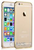Чехол Vouni Buckle Curve для iPhone 6/6S Champagne Gold
