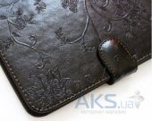 Вид 5 - Обложка (чехол) Saxon Case для PocketBook Basic 611/613 Berry Brown