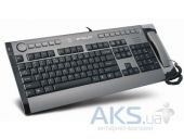 Клавиатура A4Tech KIP-800-R Black/silver