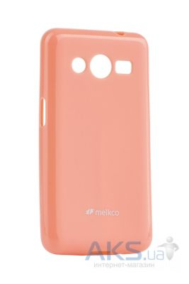 Чехол Melkco Poly Jacket TPU Case for Samsung G355/Core Pink