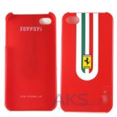 Вид 2 - Чехол Ferrari Stradale Back Cover For iPhone 4 Red (FEST4GRE)