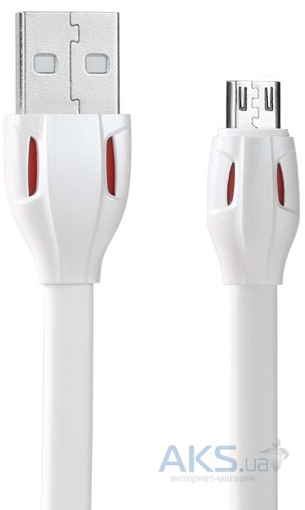 Кабель USB REMAX Cobra microUSB Cable White