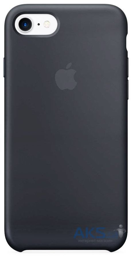 Чехол Apple Silicone Case iPhone 7, iPhone 8 Space Gray (MMX22_HC)