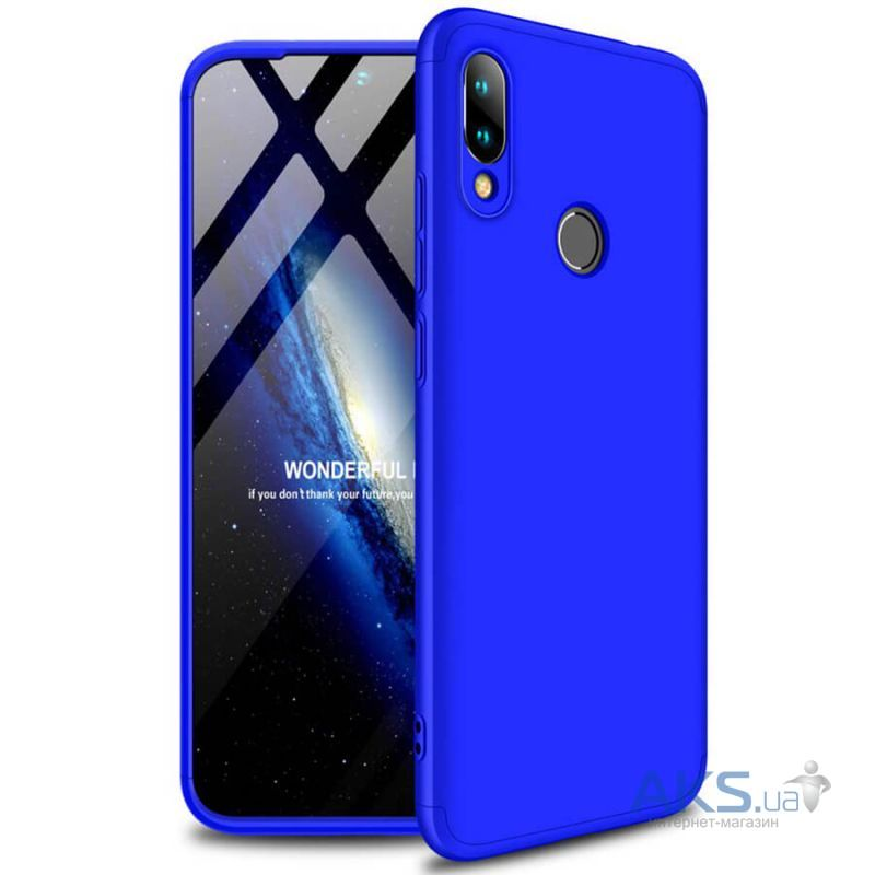 Чехол 1TOUCH Super-Protect Series Xiaomi Redmi 7 Deep Blue