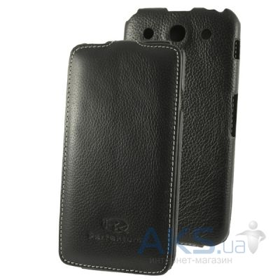 Чехол Perfektum Leather Flip series LG Optimus G Pro E988 Black
