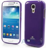 Чехол Mercury TPU Jelly Color Series Samsung i9190 Galaxy S4 mini, i9192 Galaxy S4 mini Duos, i9195 Galaxy S4 mini Duos Violet