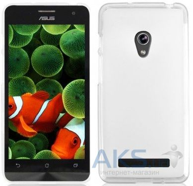 Чехол Original TPU Case Asus ZenFone 5 A501CG Transparent