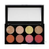 Палетка из 8 румян Makeup Revolution Blush Palette Blush Goddess