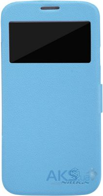 Чехол Nillkin Fresh Series Leather Case For Samsung i9152 Blue
