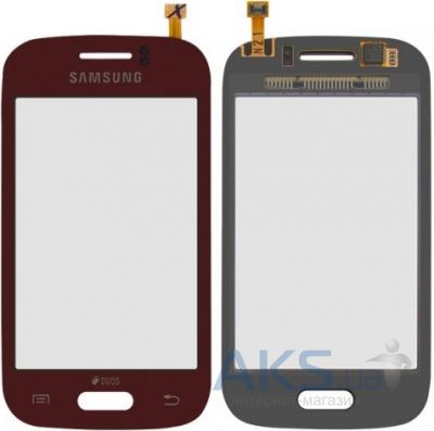 Сенсор (тачскрин) для Samsung Galaxy Young S6310, Galaxy Young S6312 Red