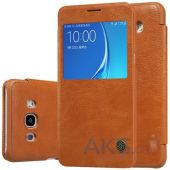 Чехол Nillkin Qin Leather Series Samsung J710 Galaxy J7 2016 Brown