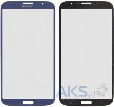 Стекло дисплея для Samsung Galaxy Mega 6.3 I9200, I9205 Original Blue