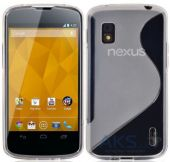 Чехол Original TPU Duotone LG Google Nexus 4 E960 Transparent
