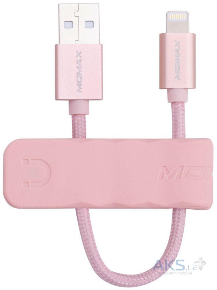 Кабель MOMAX USB to Lightning Elite Link Pro 1m MFI Black