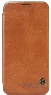 Чехол Nillkin Qin Leather Series Samsung G920F, G920D Duos Galaxy S6 Brown