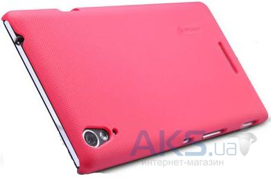 Чехол Nillkin Super Frosted Shield Sony Xperia T3 D5102 Red