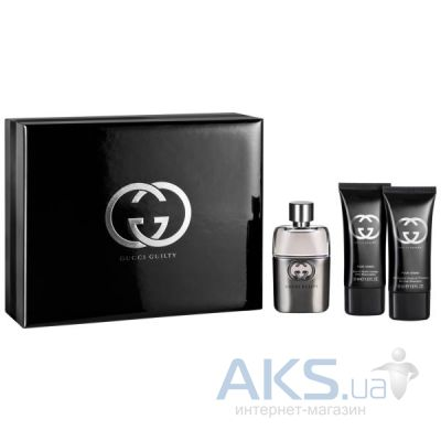 Gucci Guilty pour Homme Набор 50 ml + 50 ml + 50 ml