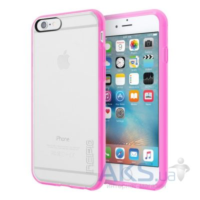Чехол Incipio Octane Pure Apple iPhone 6, iPhone 6S Clear/Highlighter Pink (IPH-1348-CHPNK-INTL)