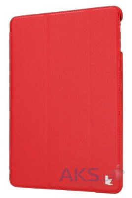Чехол для планшета JisonCase PU leather case for iPad Air Red [JS-ID5-09T30]