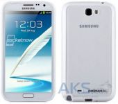 Вид 2 - Чехол Momax iCase Pro cover for Samsung N7100 Galaxy Note II White (ICPSANOTE2W1W)