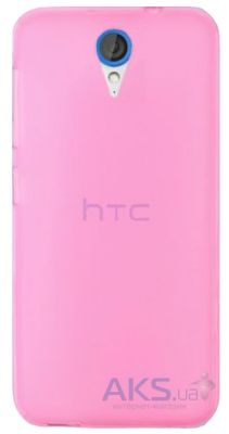 Чехол Original TPU case HTC Desire 620, Desire 820 mini Pink