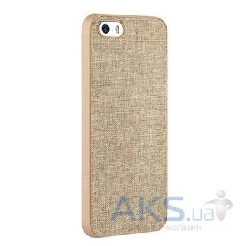 Чехол Ozaki O!coat-0.3+Canvas Apple iPhone 5, iPhone 5S, iPhone SE Khaki (OC543KH)