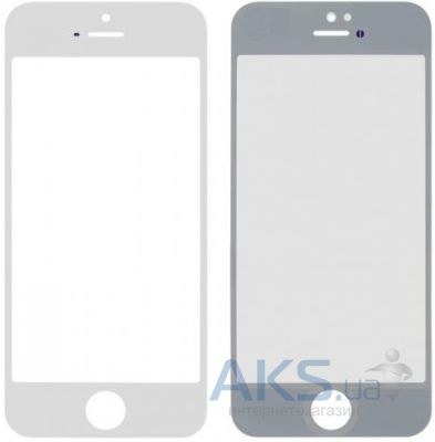 Стекло для Apple iPhone 5, iPhone 5C, iPhone 5S Original White