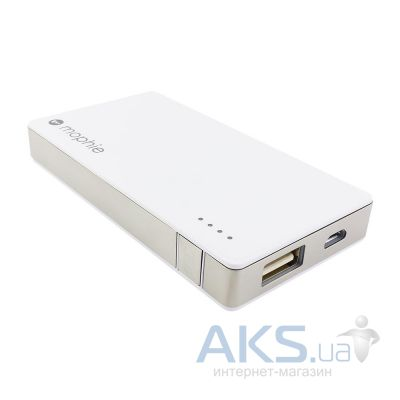 Внешний аккумулятор Mophie Juice Pack Universal Powerstation Mini [2056-JPU-MINI-PWRSTION-WHT], 2500 mAh White
