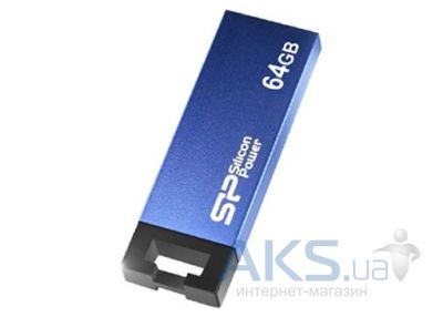 Флешка Silicon Power Touch 835 64GB (SP064GBUF2835V1B) Blue