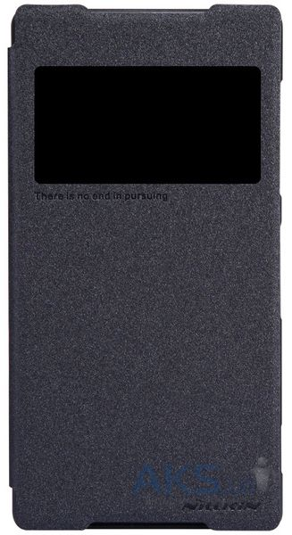 Чехол Nillkin Sparkle Leather Series Sony Xperia Z2 D6502 Black