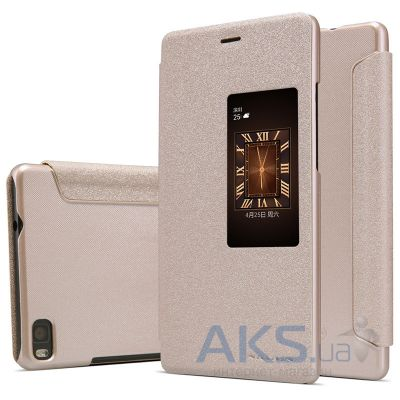 Чехол Nillkin Sparkle Leather Series Huawei Ascend P8 Gold