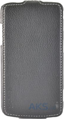 Чехол Carer Base Flip Leather Case for Samsung I8580 Galaxy Core Advance Black