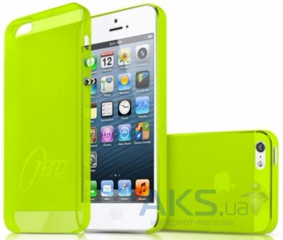 Чехол ITSkins Zero.3 cover case for iPhone 5/5S Green (APH5-ZERO3-GREN)