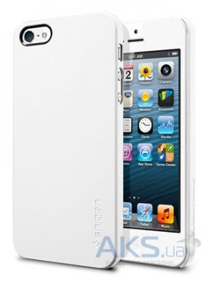 Чехол SGP Case Ultra Thin Air Series Smoth Apple iPhone 5, iPhone 5S, iPhone SE White (SGP09505)