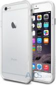 Чехол SGP NEO Hybrid EX for iPhone 6/6S white/silver