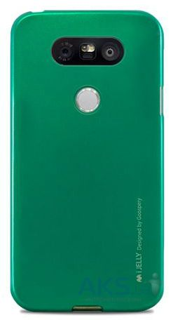 Чехол Mercury TPU Jelly Metal Series LG G5 H860, G5 SE H845 Mint Green