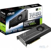 Видеокарта Asus GeForce GTX1080 Ti 11Gb TURBO (TURBO-GTX1080TI-11G)
