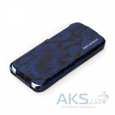 Чехол Borofone Explorer Leather Flip Apple iPhone 5, iPhone 5S, iPhone SE Deep Blue