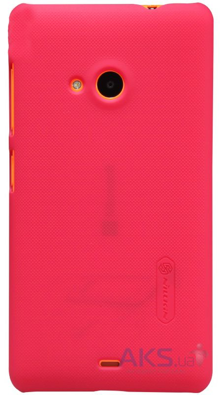Чехол Nillkin Super Frosted Shield Microsoft Lumia 535 Red