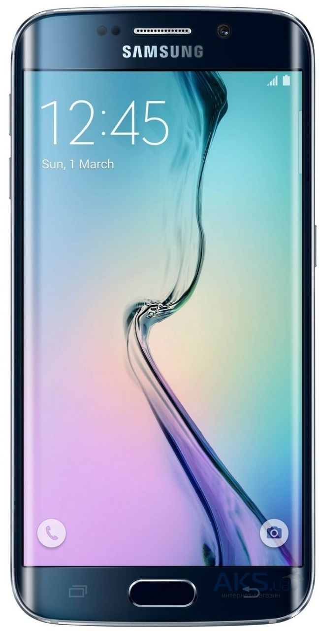 Дисплей (экраны) для телефона Samsung Galaxy S6 EDGE G925F + Touchscreen with frame Original Blue